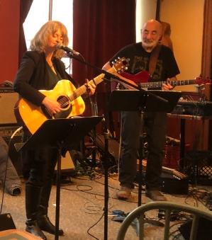 Lynn Harrison with Bob